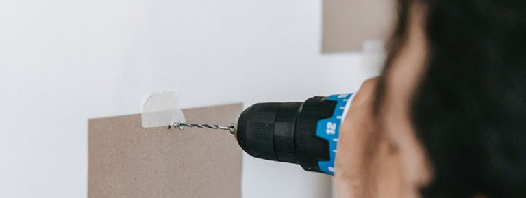 How to Drill into Brick and not crack it
